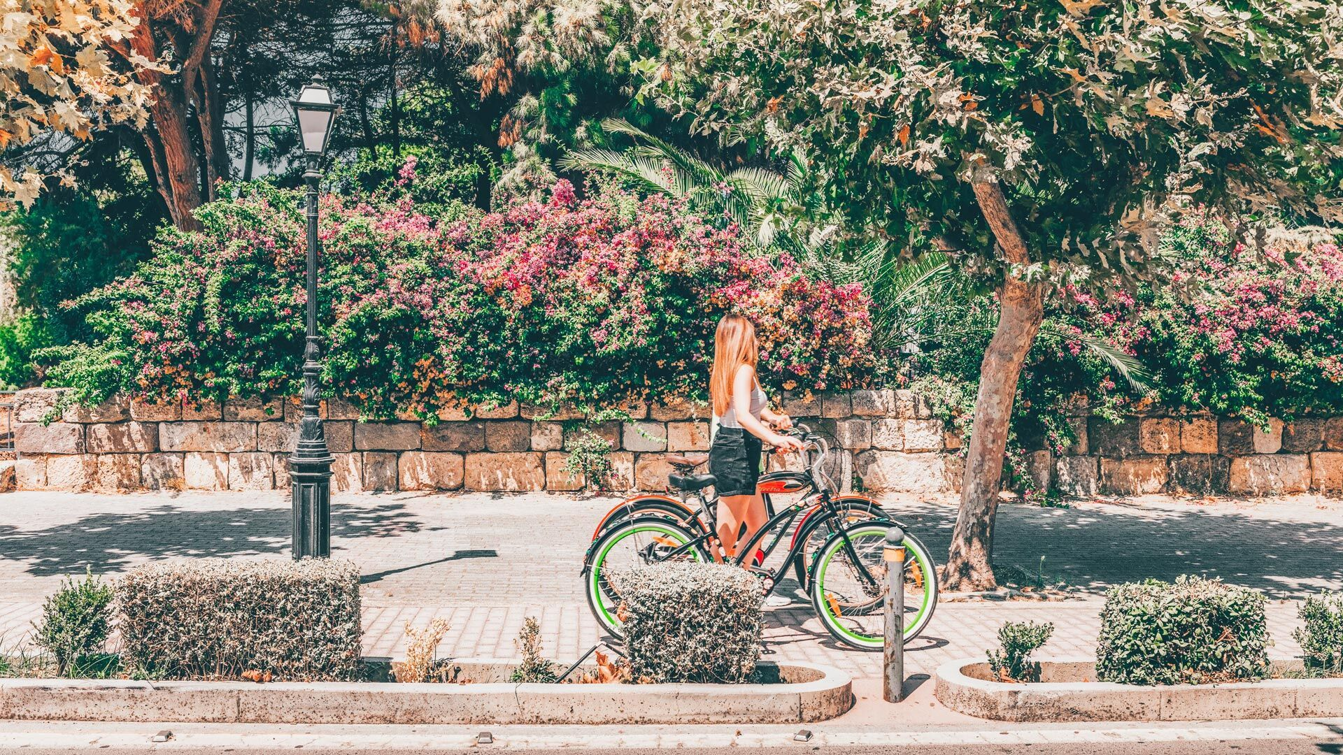 Kos is an ideal island for cycling lovers