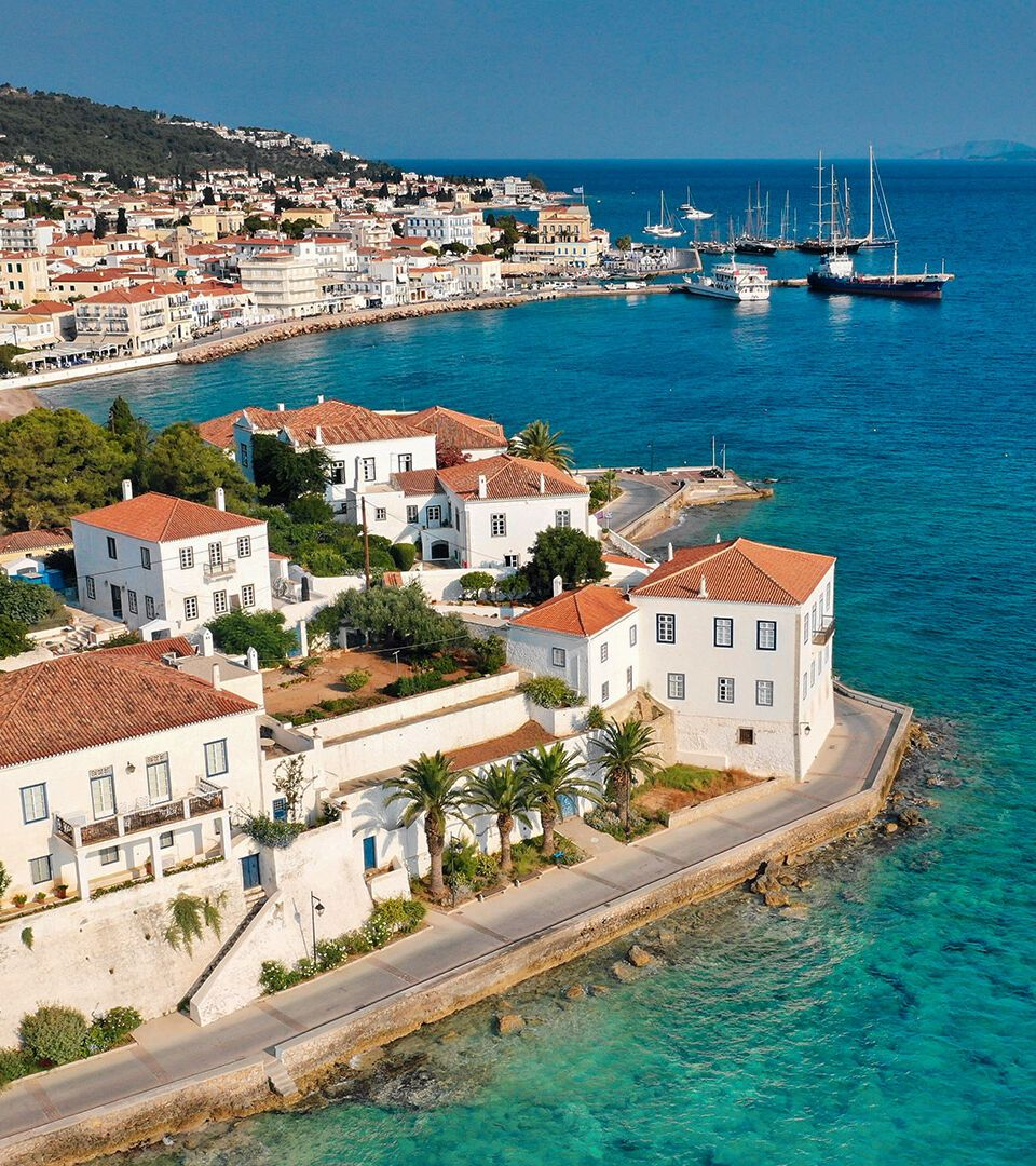 Spetses the Argosaronic island of captains