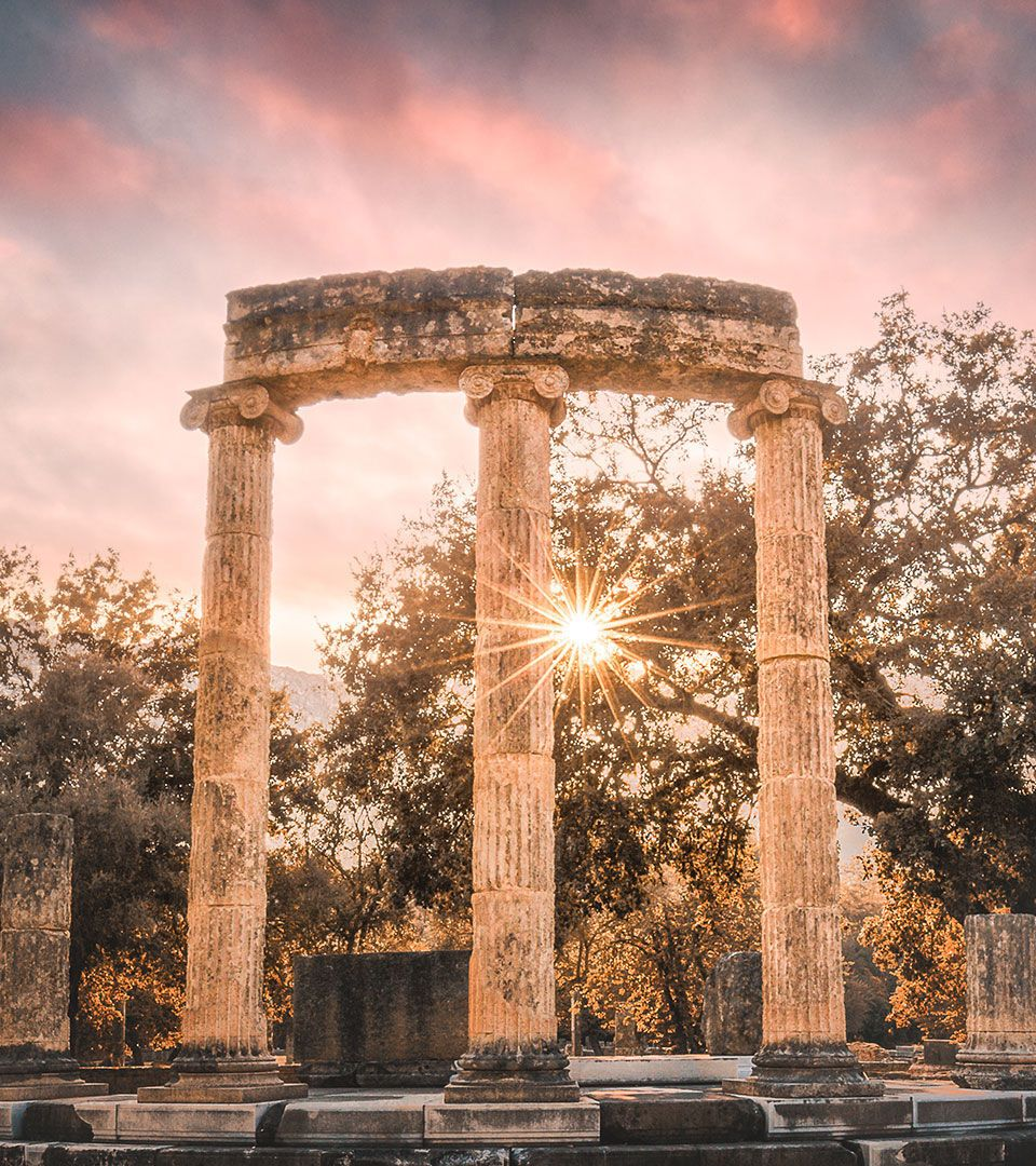 Ancient Olympia was one of the most sacred and glorious sanctuaries of the ancient world
