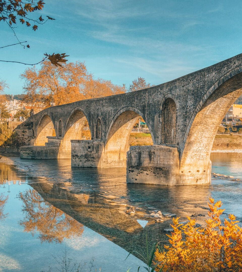 The bridge of Arta is one of the most famous attractions in Epirus