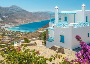 Amorgos island is one of the hidden gems of the Cyclades islands