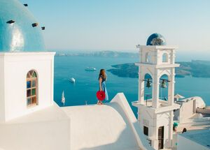 Santorini is the embodiment of everything magical about the Greek islands