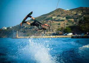 Sea sports in Patmos Island