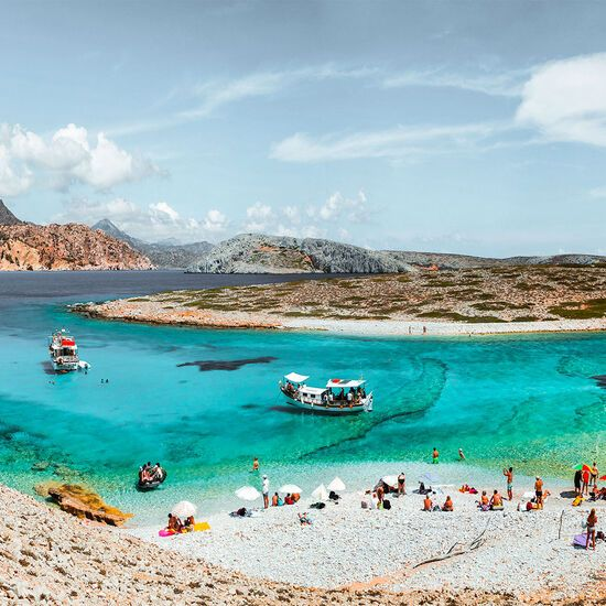 Koutsomytis beach, the most beautiful in Astypalaia, Dodecanese