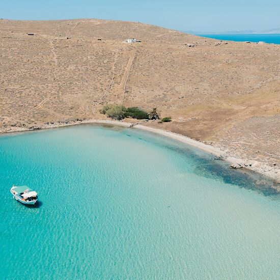 A day cruise to Delos will also take you to nearby Renia isle