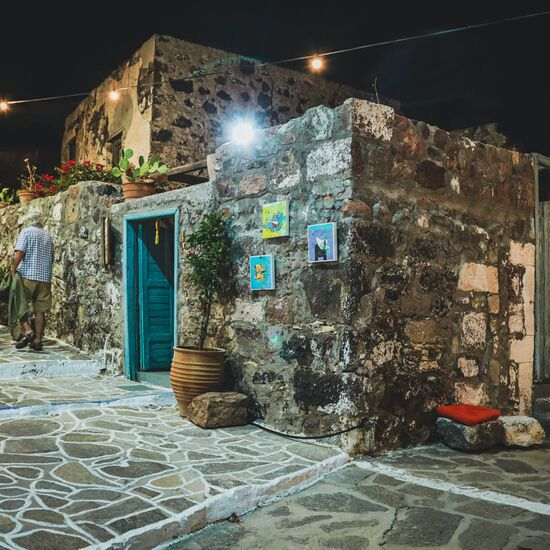 Night strolls in Milos