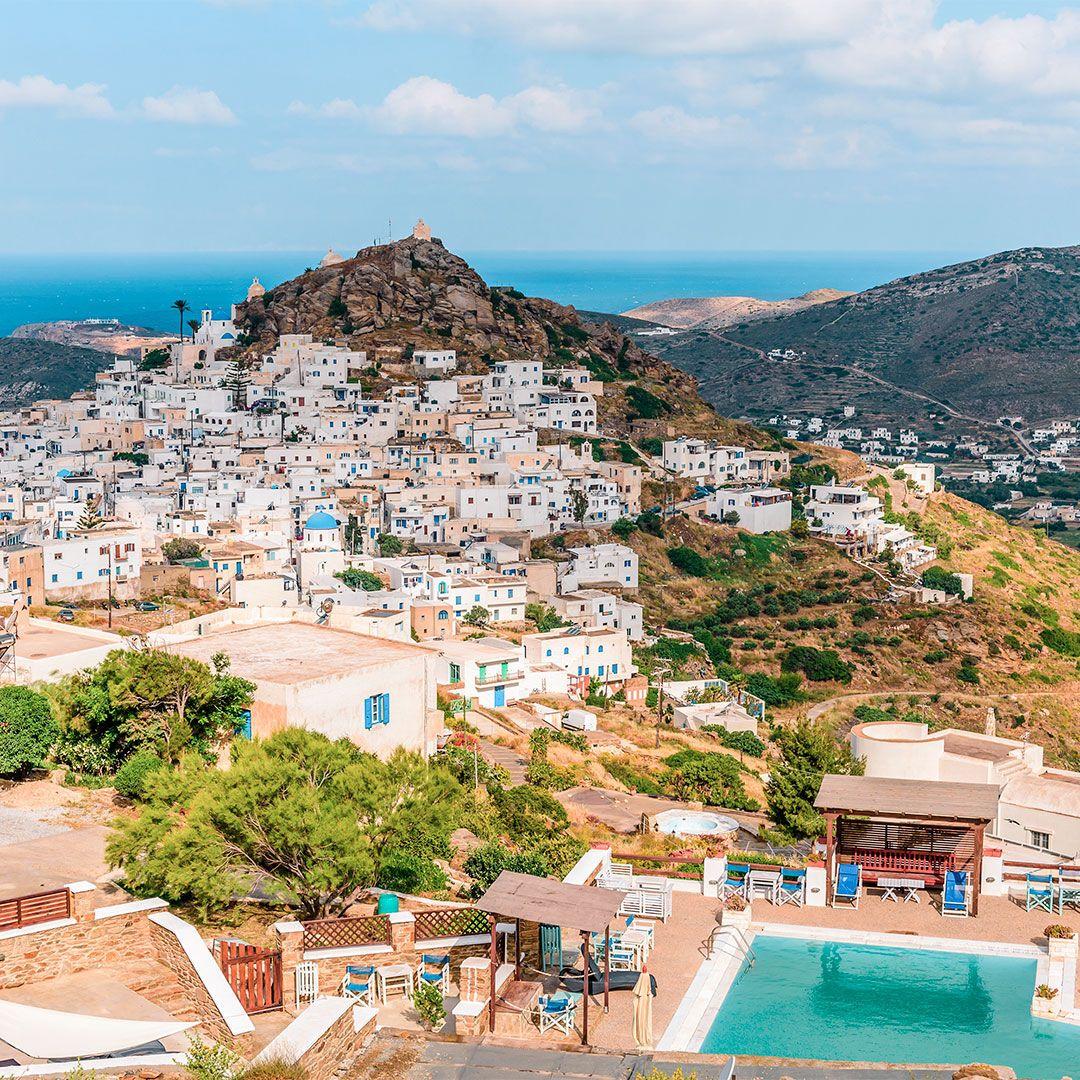 Ios Cartina Geografica.Ios Vacanze A Le Cicladi Discover Greece