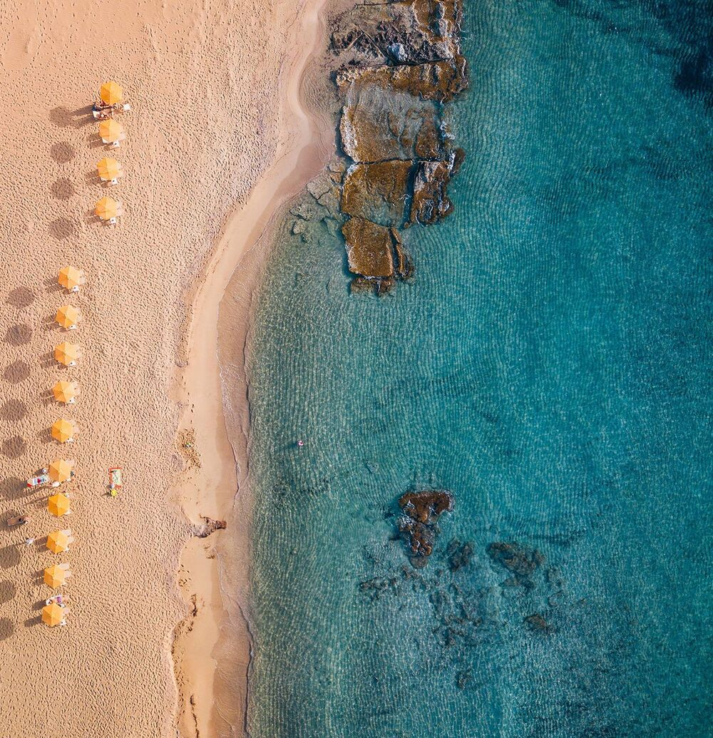 Elafonisi has a wonderful beach with pink coral sand and crystalline waters