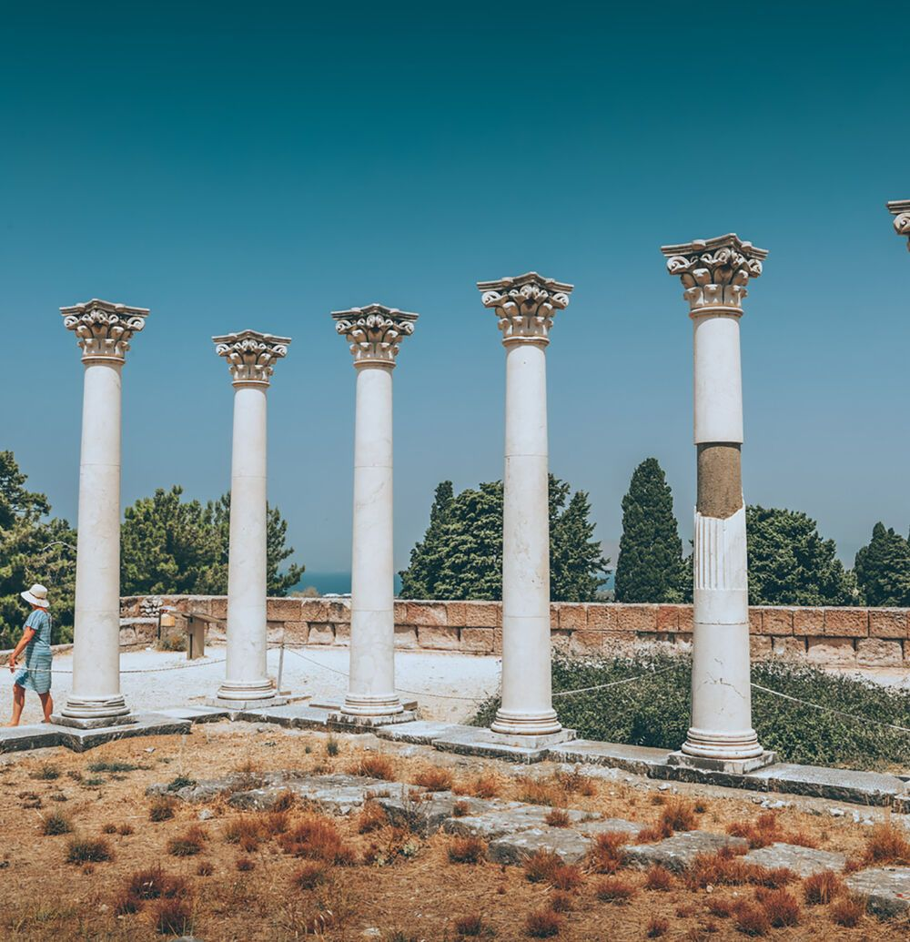 The Asclepion, Kos' most famous archaeological site
