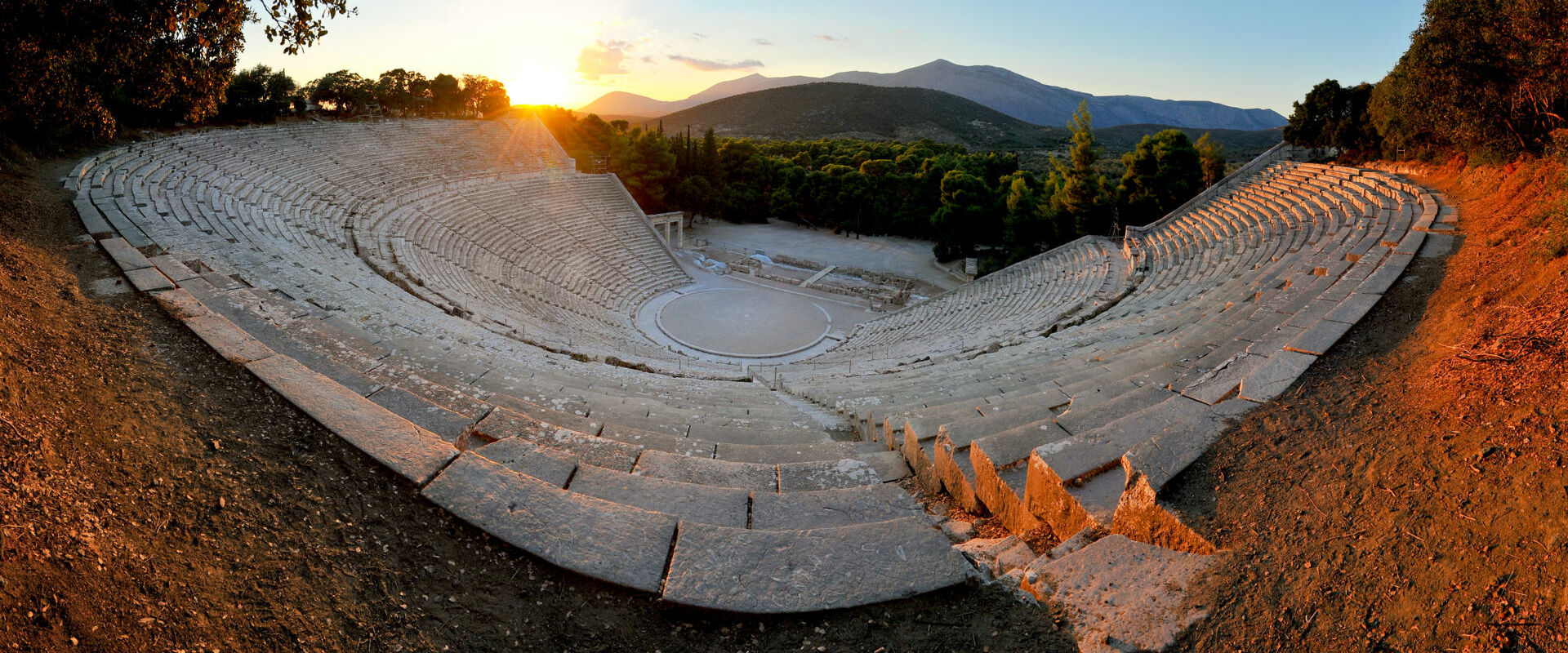 Epidaurus, the oldest theater in ancient Greece