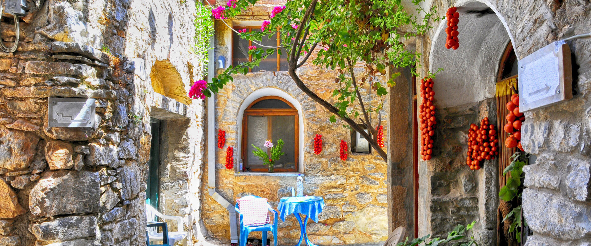 Mesta village, south Chios