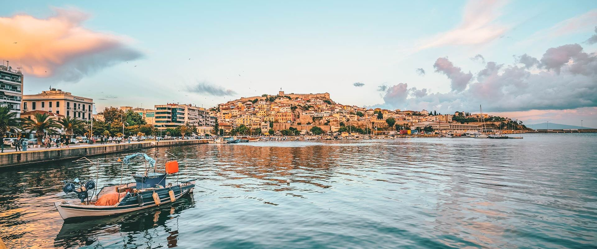 Kavala, a city escape by the sea