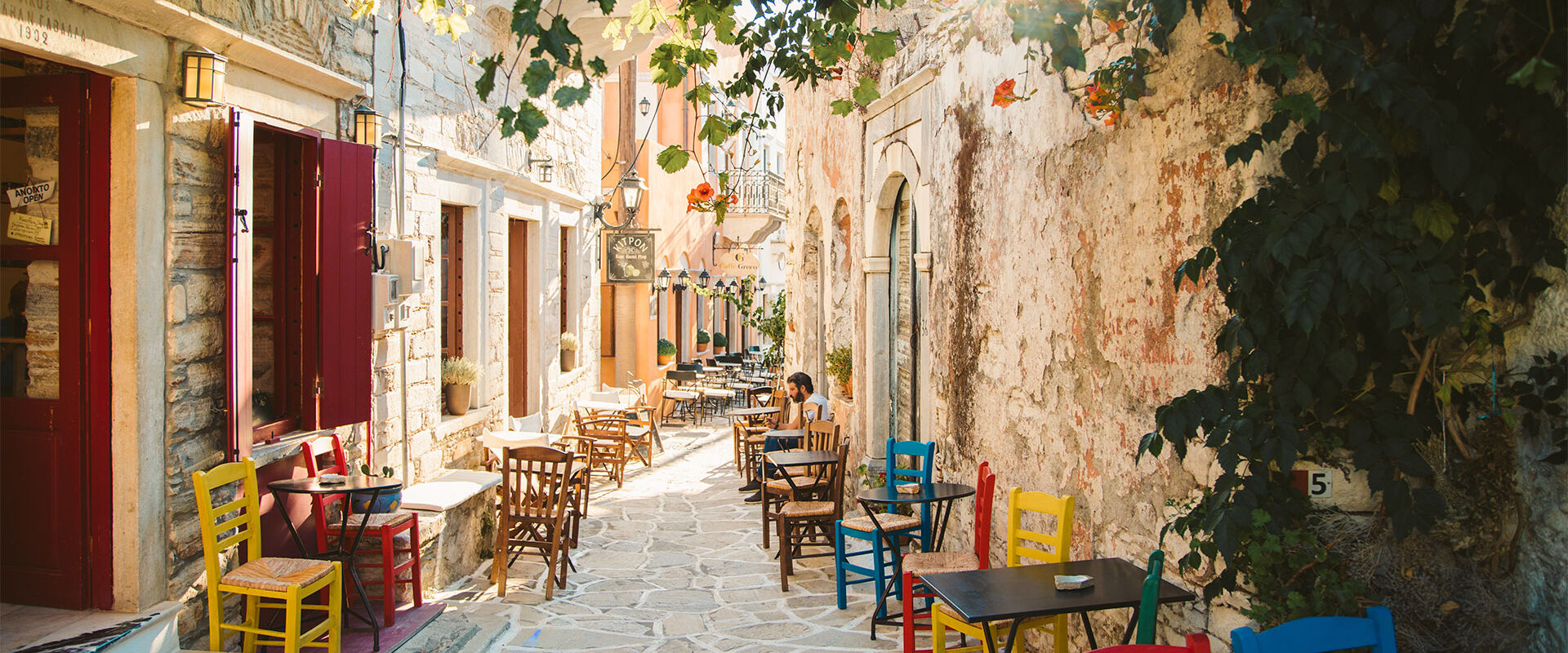 Halki medieval village, untouched by time
