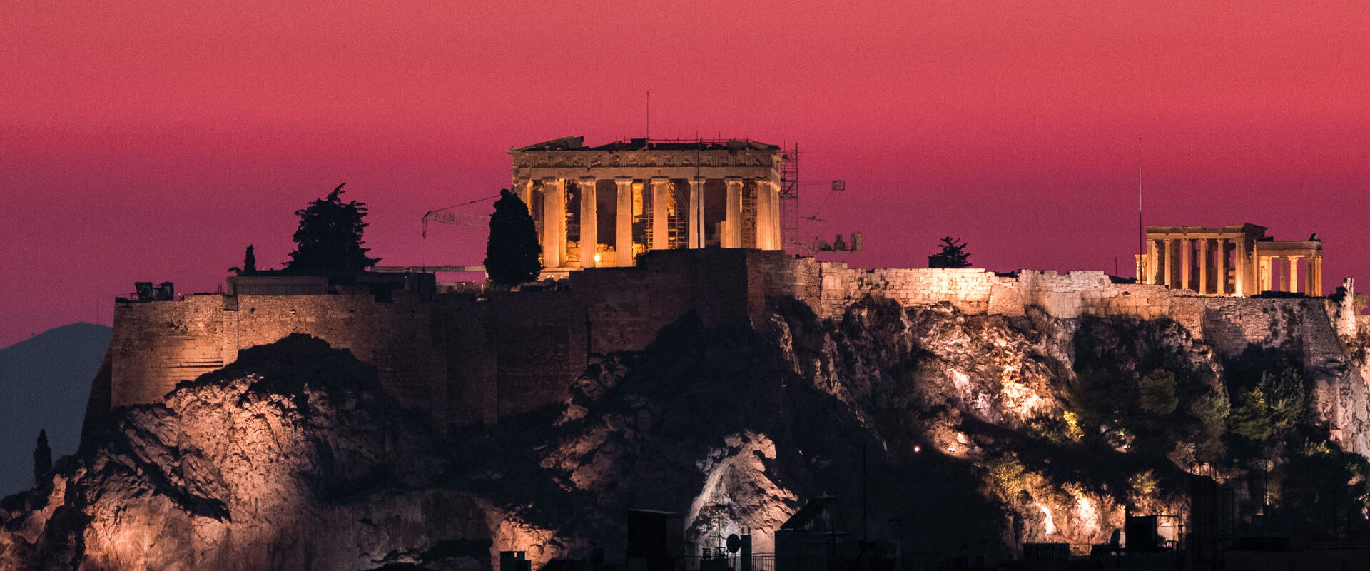 From wherever you catch sight of it in Athens, the Acropolis steals every bit of your attention, escpecially when the lights are on