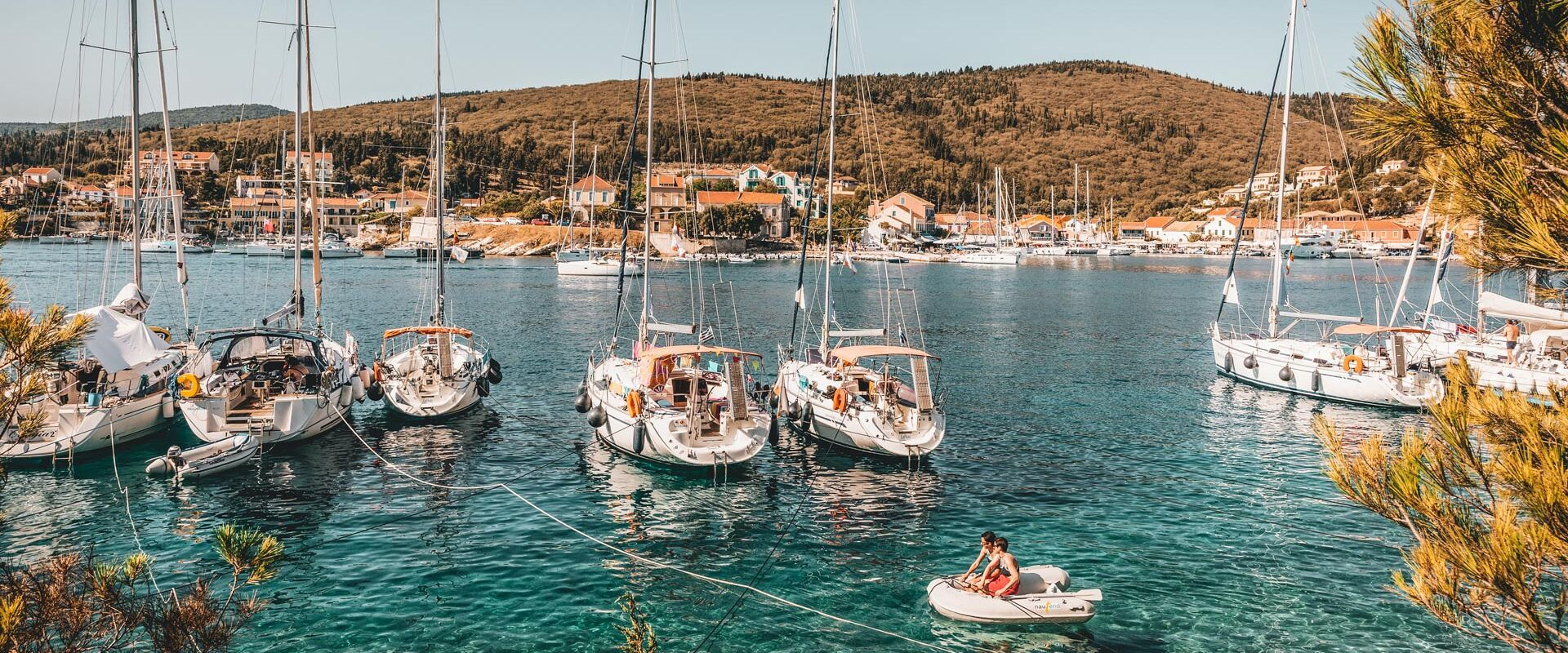 One of the highlights of any stay on Kefalonia, the fishing village of Fiskardo has been attracting visitors for decades