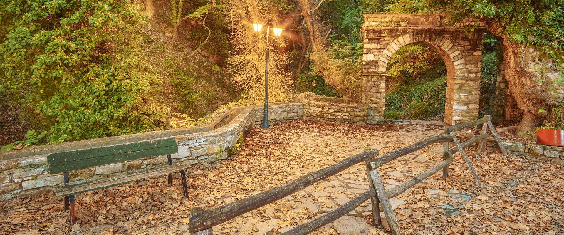 The most popular uphill trail of Pelion mountain is the trail of Centaurs