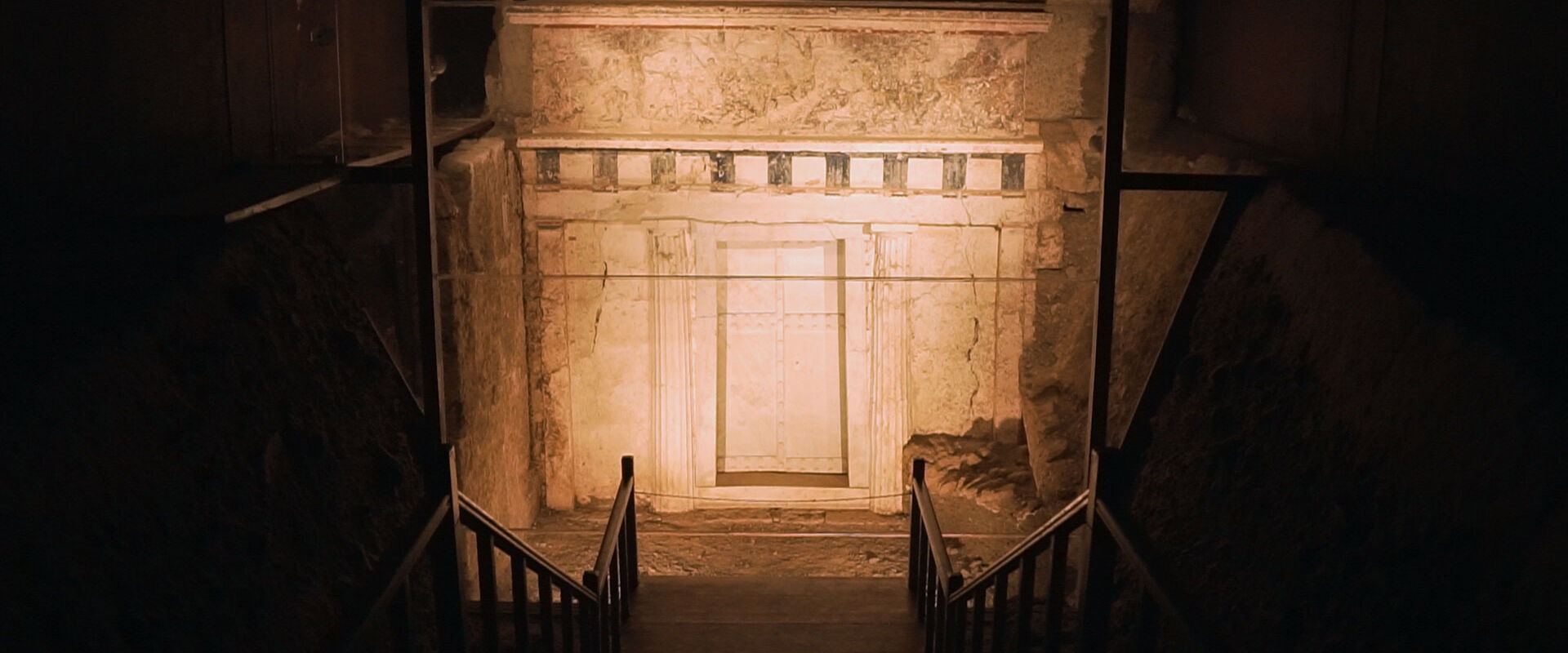The tomb of Philip II in Vergina