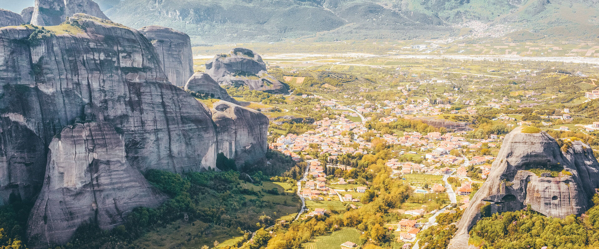 The magical landscape of the Meteora monasteries and rock formations takes you on yet another journey with the experience of rafting down the Pinios River