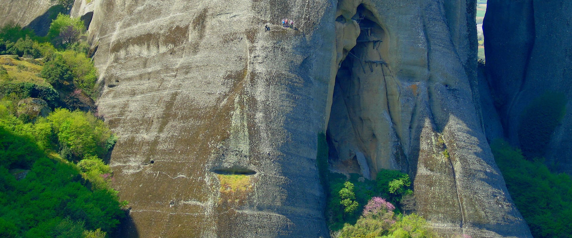 Rock climbing in Greece