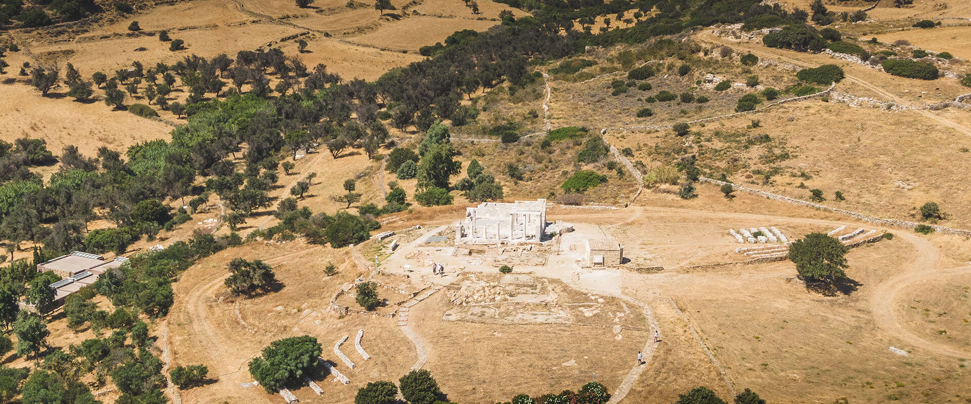 It's worth including a visit to the Temple of Demeter with a day's village-hopping in Naxos