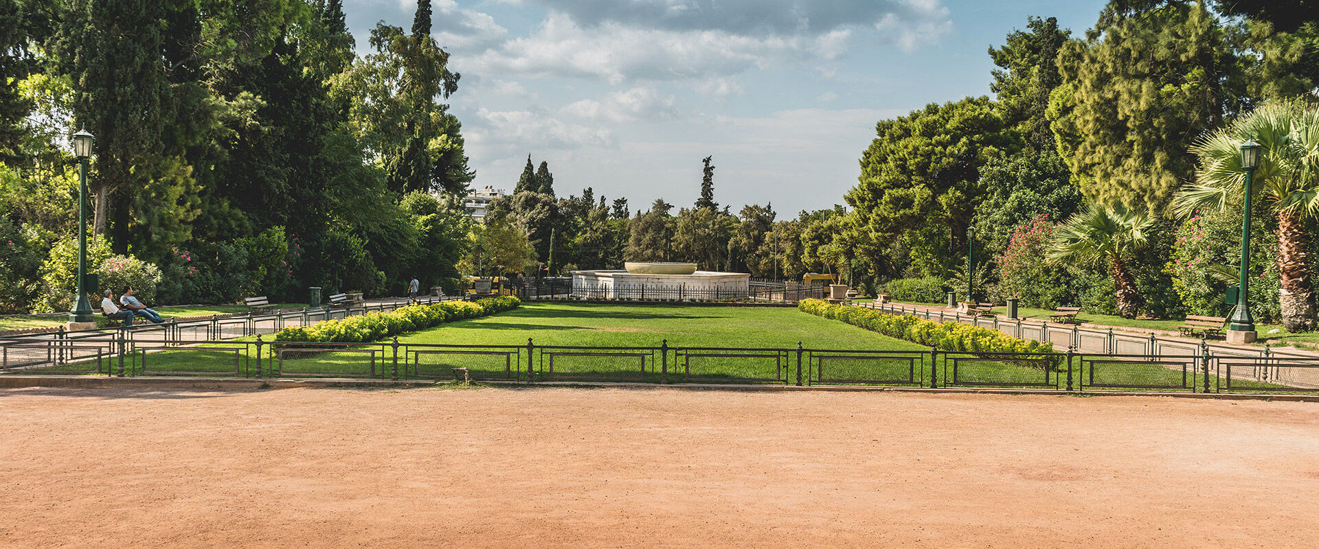 Zappeion Park, and the National Garden cover a full 160 acres