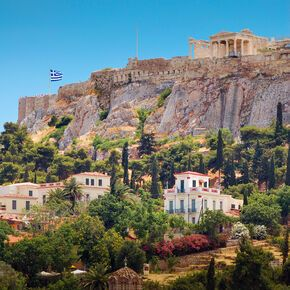 The Acropolis hill in Athens