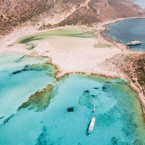 Balos beach in Chania