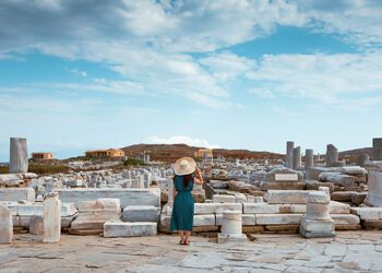 Exploring the birthplace of Apollo on Delos
