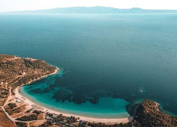 Setting sail for Ammouliani, Halkidiki's only island