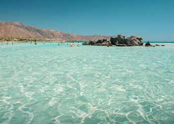 The dreamscape of Crete's Elafonisi beach