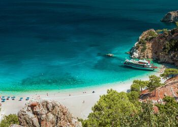 A touch of exotic beauty at Apella beach on Karpathos