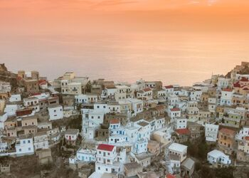 Colourful village-hopping through the mountains of Karpathos