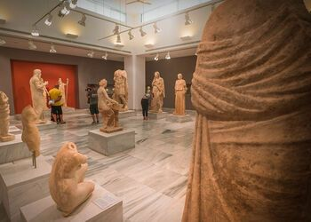 The archaeological museum of Heraklion