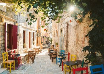 Mountain village hopping in Naxos