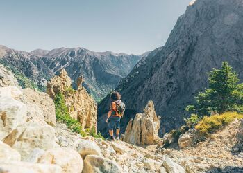 Hiking the spectacular Samaria Gorge in Chania