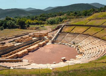 Unearthing Ancient Messene in the southwestern Peloponnese