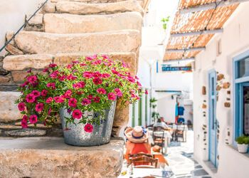 A walking tour of Naxos' Hora, the complete island town