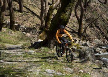 Mountain biking in Evia on Mt Dirfis