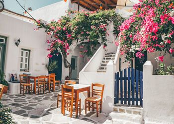 Escaping to the villages of Paros