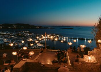 The best of outdoors dining and nightlife in Mykonos