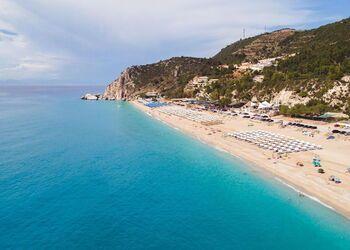 Playa Kathisma en Lefkada