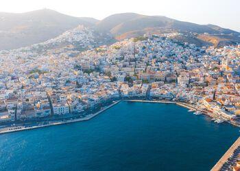 A walking tour of colourful Ermoupoli in Syros