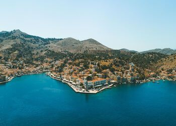 A boat trip from Rhodes to the old world charm of Symi