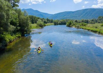 Canoeing on the Nestos River