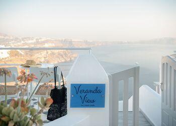 Veranda View Santorini
