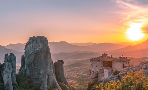 Unesco has declared Meteora a World Heritage Site