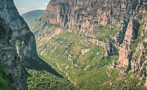 Vikos Gorge, the kingdom of the river and the eagles