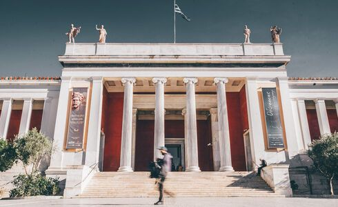 You can appreciate the museum's stature even before you enter, with its imposing 19th-century neoclassical facade