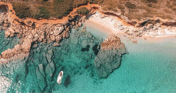 Visit beautiful secluded bays and beaches along the way, Marine Park of Alonissos
