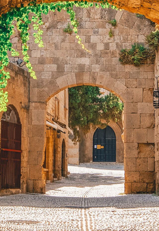 The Medieval Town in Rhodes